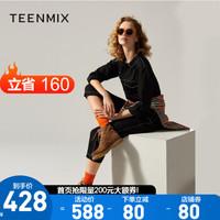 Teenmix 天美意 AT131DD8 女款休闲短靴
