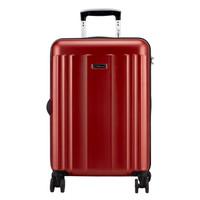 外交官(Diplomat)拉杆箱磨砂面旅行箱TSA密码箱行李箱 升级版双排轮TCF-15174红色28英寸