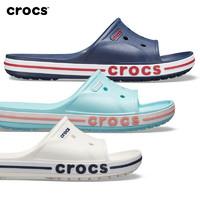 Crocs凉拖鞋卡骆驰夏季情侣款简约休闲露趾拖鞋室外沙滩鞋|205392