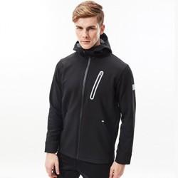 [sn]  男士软壳抓绒加厚保暖防泼水运动户外连帽上衣