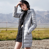 LI-NING 李宁 AYMP158 女子长款羽绒服