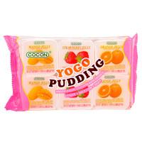 可康牌多口味优格果冻(含椰纤果)(35克*6杯装)210g 马来西亚进口 *10件