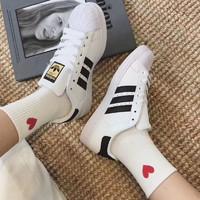 adidas Originals SUPERSTAR 中性金标款休闲运动鞋