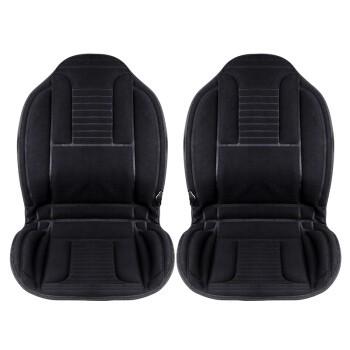 Carsetcity 卡饰社 双座新款绒面 加热保暖汽车坐垫