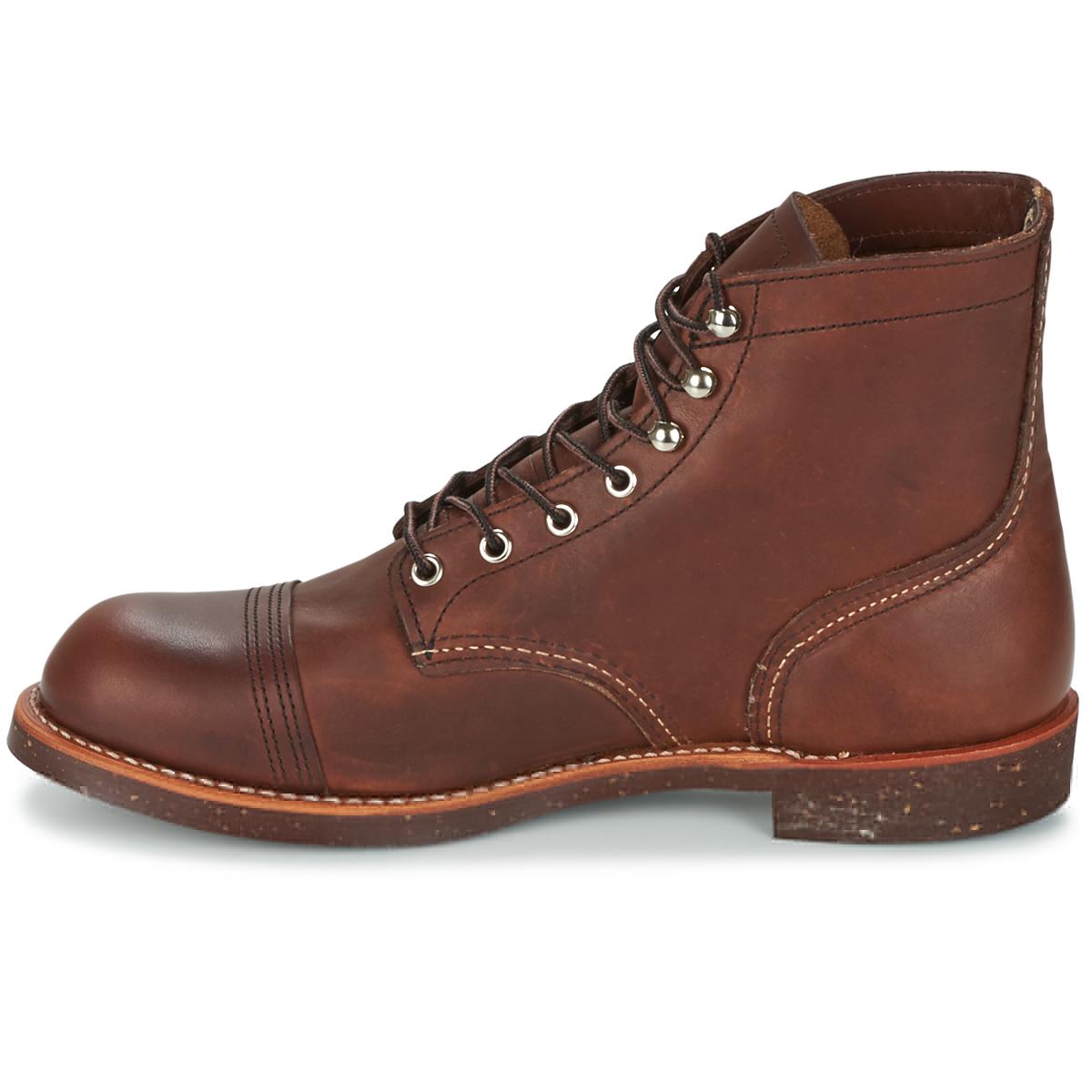 RED WING 红翼 8111-AMBER 男士短筒皮靴 棕色