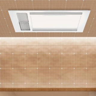 AUPU 奥普 卷云超薄系列 E161 风暖浴霸(超薄风暖+大LED照明)