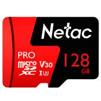 Netac 朗科 MicroSD-128GB-V30 内存卡