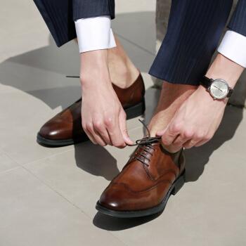 京东京造 HY1829 男士商务正装皮鞋