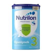 欧洲原装进口 诺优能荷兰版 (Nutrilon) 荷兰牛栏 较大婴儿配方奶粉 3段(10-12月) 800g 易乐罐