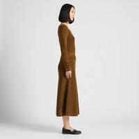 UNIQLO 优衣库 420989女装 羊毛混纺喇叭裙
