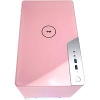 IN WIN 迎广 A1Plus 迷你机箱 粉色限定版(带650W电源、天狼星RGB风扇×2)