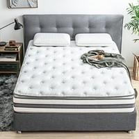 京造 乳胶黄麻弹簧床垫 150*200cm