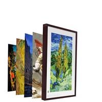BOE 京东方 电子相册画框 液晶显示屏 21英寸红木色