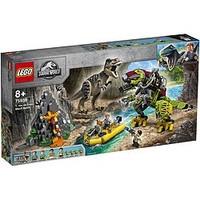 银联专享:LEGO 乐高 侏罗纪世界系列:霸王龙大战机甲恐龙 75938