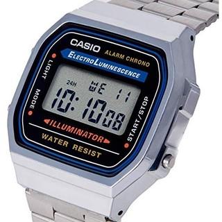 中亚Prime会员 : CASIO 卡西欧 A168W-1 男士不锈钢手表 *2件