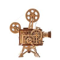 Robotime 若态 木质机械传动模型 LK601老式放映机