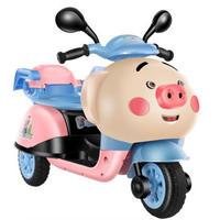 儿童电动三轮摩托车可坐人