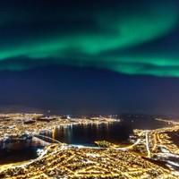 北纬69度极光大户,小众挪威特罗姆瑟
