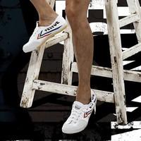 feiyue 飞跃 1-501 男女款小白鞋 *3件