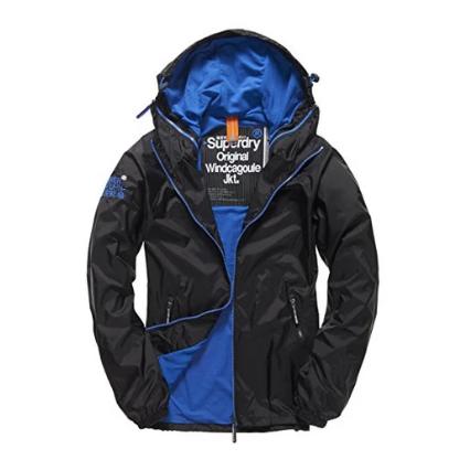 银联专享:Superdry 极度干燥 1020200500140 男士双拉链带帽防风风衣外套