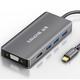 SAMZHE 山泽 Type-C扩展坞(USB3.0*3+HDMI+VGA) 79元包邮(需用券)