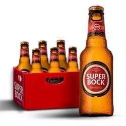 SUPER BOCK 超级波克 经典黄啤 5.2度 250ml*6瓶 *5件