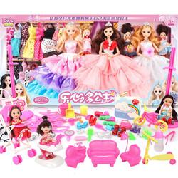 芭比娃娃套装礼盒 *3件