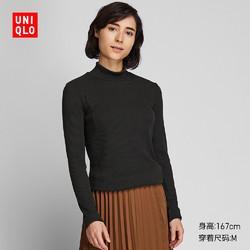 UNIQLO 优衣库 418231 女士罗纹高领T恤