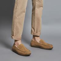 男式羊毛内里乐福鞋升级款