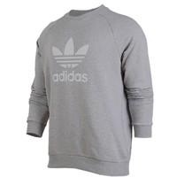 阿迪达斯(adidas)三叶草卫衣男冬季新款休闲圆领运动套头衫CY4573