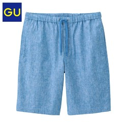 GU 极优 314455 男士抽绳宽松短裤