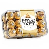 FERRERO ROCHER 费列罗 Rocher T30 金莎榛果威化巧克力礼盒 30粒