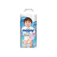 尤妮佳MOONY 加大号纸尿裤拉拉裤XL号XL38片
