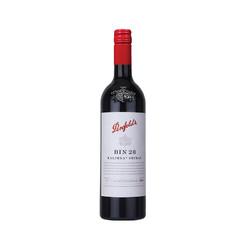 奔富(Penfolds BIN28红葡萄酒 750ml 螺旋盖 红酒 澳大利亚进口