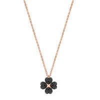 施华洛世奇SWAROVSKI LATISHA FLOWER双面花朵人造水晶女士项链锁骨链 送恋人