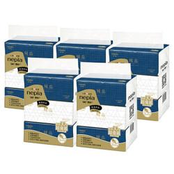 妮飘(Nepia) 抽纸抽取式面纸餐巾纸 柔滑羢品系列 丝绒触感 3层130抽*15包 *2件