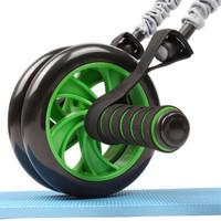 凯速(KANSOON)健腹轮男女腹肌轮锻炼练腹部马甲线健身器材家用减肚子滚轮收腹巨轮 KA30带拉绳