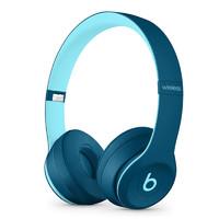Beats solo3 Wireless 头戴式无线蓝牙耳机 通用 Pop水蓝