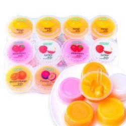 马来西亚进口 可康cocon多口味椰果果冻 芒果布丁 儿童零食960g 12杯装 *5件