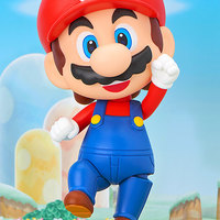 艾漫 粘土人 超级马里奥兄弟 马里奥 Mario 手办