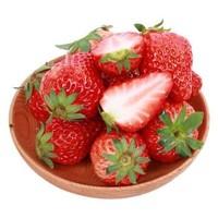 展卉 云南奶油草莓 净重3斤