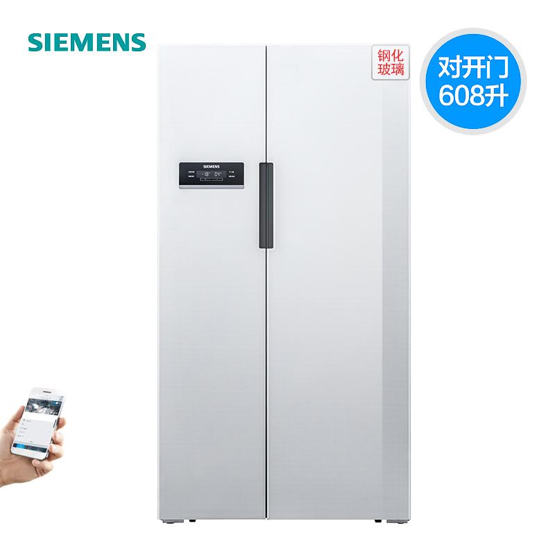SIEMENS/西门子 KA92SE22TI 风冷无霜 家居互联对开门保鲜大冰箱