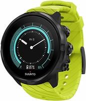 SUUNTO 颂拓 9 中性Multisport GPS手表,25小时电池寿命,防水深度100米,手腕心率监测器,彩色显示屏,矿物玻璃,SS050142000