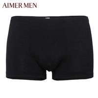 京东PLUS会员 : Aimer 爱慕 NS23S11 男士平角内裤