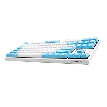 DURGOD 杜伽 K320W 87键无线蓝牙有线三模机械键盘