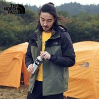 12号:THE NORTH FACE 北面 3CGM 男款羽绒三合一冲锋衣