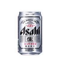 Asahi 朝日啤酒 超爽系列 朝日啤酒 330ml*6听