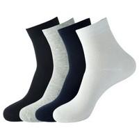 卡同 男士棉质袜子 5双装