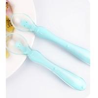 Lukbaby 运宝 儿童温感硅胶勺 2支装