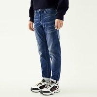GXG牛仔裤男装 冬季男士时尚都市潮流青年修身蓝色裤子牛仔裤 *2件